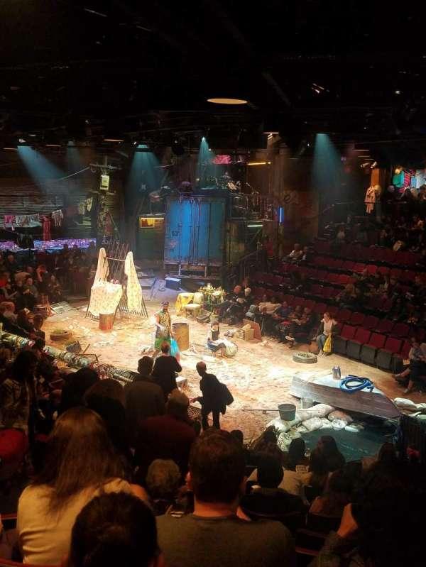 Circle in the Square Theatre, secção: Orchestra, fila: K, lugar: 133