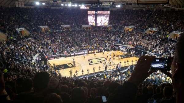 Mackey Arena, secção: 112, fila: 24, lugar: 2