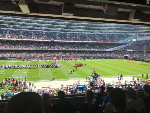 Soldier Field, secção: 239, fila: 7, lugar: 3