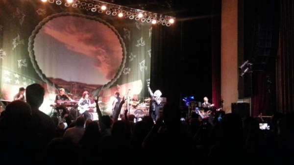 Paramount Theatre (Denver), secção: ORCH L, fila: L, lugar: 1