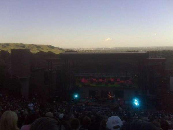 Red Rocks Amphitheatre, secção: Reserved, fila: 38, lugar: 72