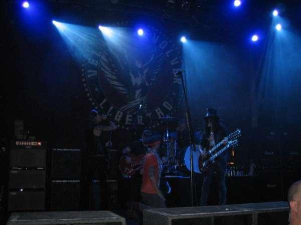 The Joint at Hard Rock Las Vegas, secção: GA, fila: Baracade