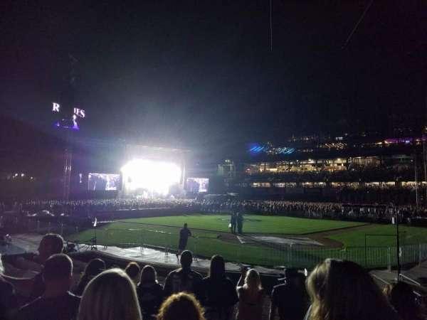 Coors Field, secção: 132, fila: 10, lugar: 1