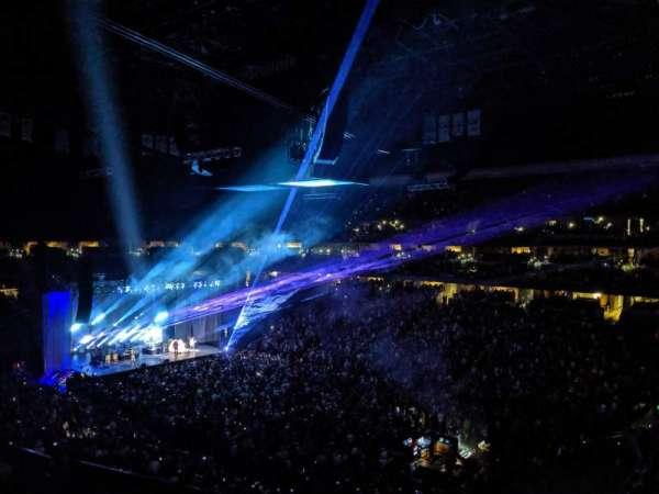 Ball Arena, secção: 333, fila: 1, lugar: 10