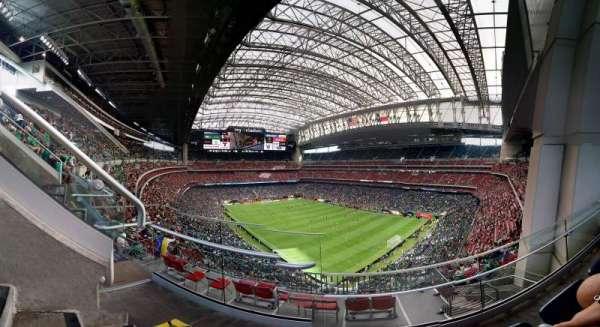 NRG Stadium, secção: 627, fila: B, lugar: 7