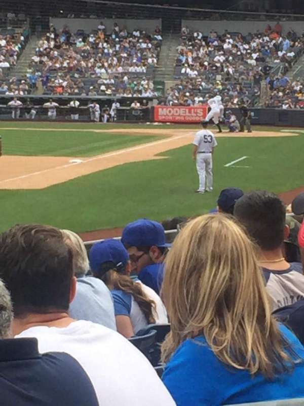Yankee Stadium, secção: 130, fila: 10, lugar: 3