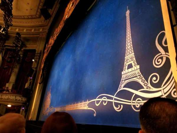 Broadhurst Theatre, secção: Orchestra-Right, fila: B, lugar: 12