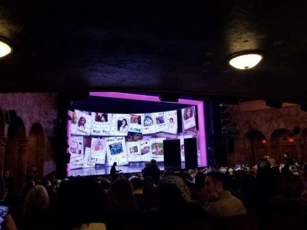August Wilson Theatre, secção: Orchestra L, fila: T, lugar: 13