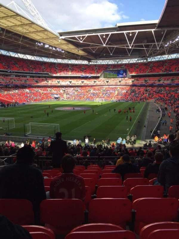 Wembley Stadium, secção: 131, fila: 40, lugar: 241