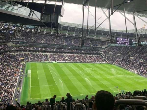 Tottenham Hotspur Stadium, secção: 508, fila: 27