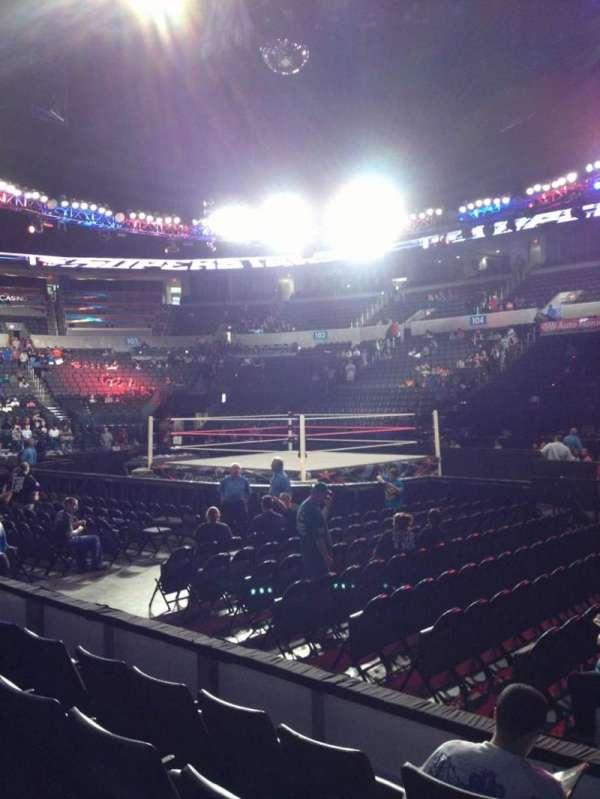 Chesapeake Energy Arena, secção: 115, fila: D, lugar: 1