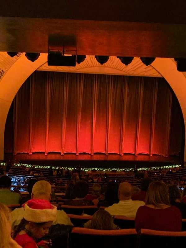 Radio City Music Hall, secção: 1st Mezzanine 5, fila: J, lugar: 507