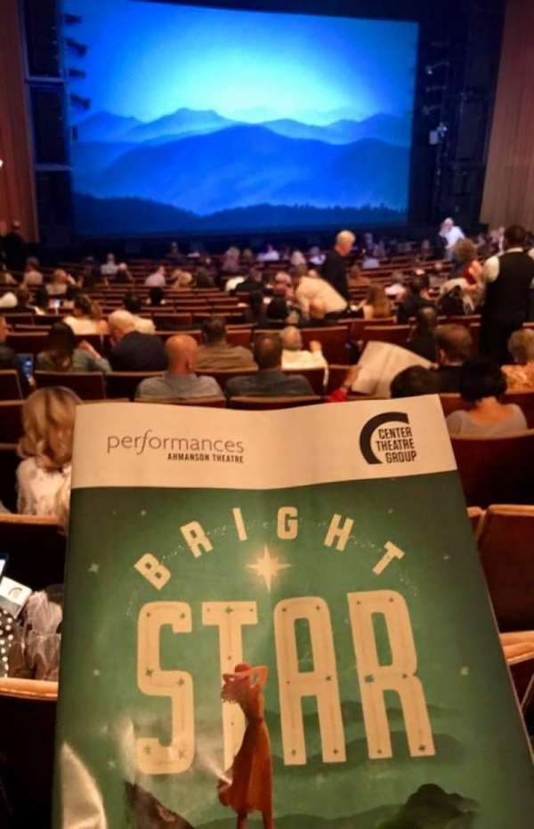 Ahmanson Theatre, secção: Orch, fila: U, lugar: 48