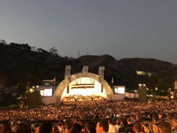 Hollywood Bowl, secção: N3, fila: 11, lugar: 17