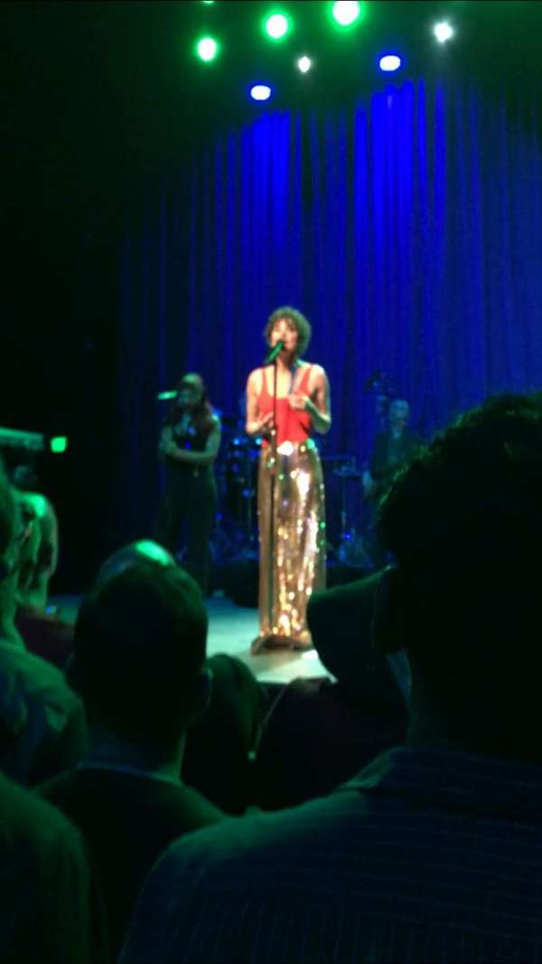 The Fonda Theatre, secção: GA