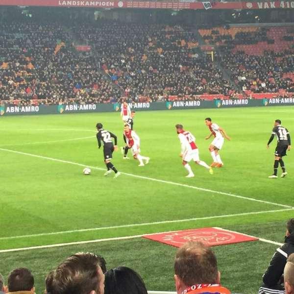 Johan Cruyff Arena, secção: 106, fila: 3, lugar: 176