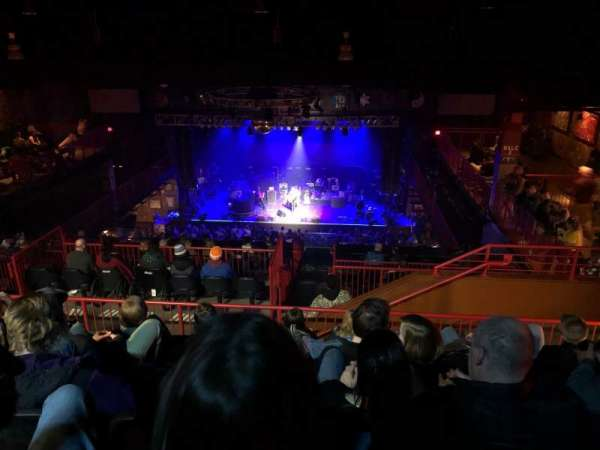 House Of Blues - Boston, secção: Stadiun, fila: F, lugar: 305