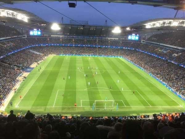 Etihad Stadium (Manchester), secção: 316, fila: CC, lugar: 441