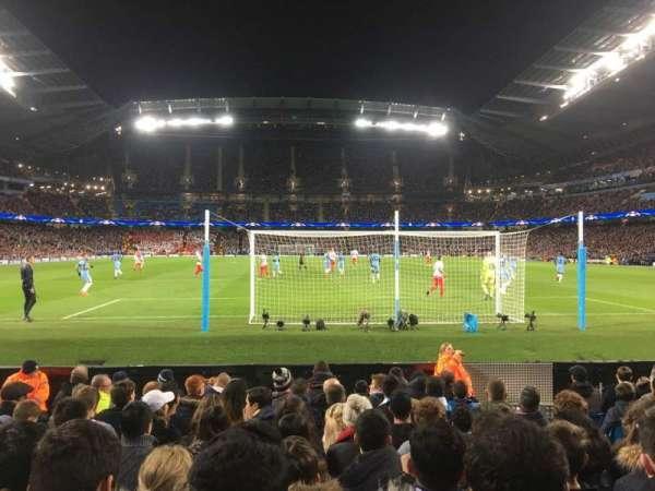 Etihad Stadium (Manchester), secção: 137, fila: G, lugar: 1029