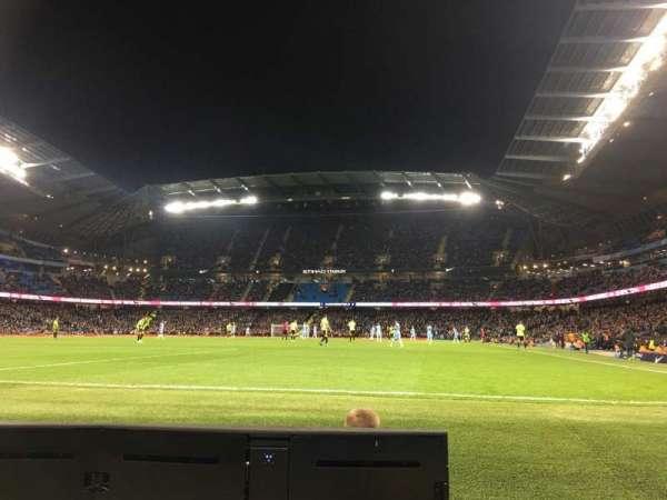 Etihad Stadium (Manchester), secção: 134, fila: 2, lugar: 943