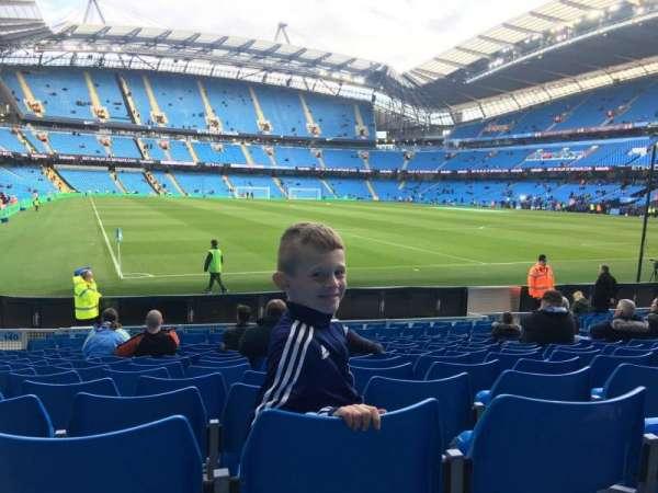 Etihad Stadium (Manchester), secção: 140, fila: N, lugar: 1103