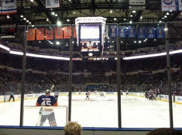 Old Nassau Veterans Memorial Coliseum, secção: 122, fila: 3, lugar: 1