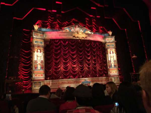 Walter Kerr Theatre, secção: Orchestra C, fila: K, lugar: 118
