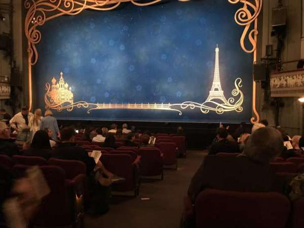 Broadhurst Theatre, secção: Orchestra R, fila: N, lugar: 2