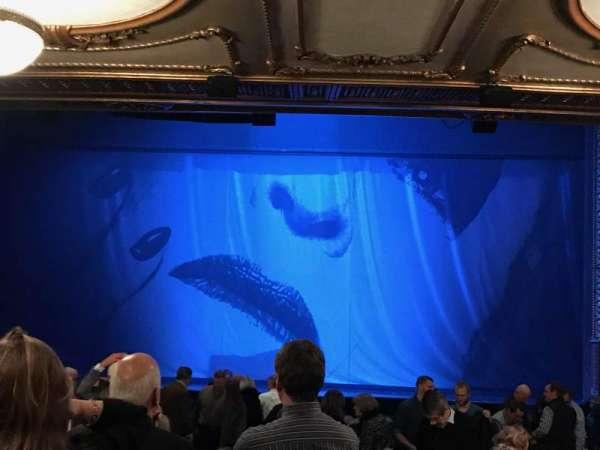 Palace Theatre (Broadway), secção: Orchestra, fila: W, lugar: 108