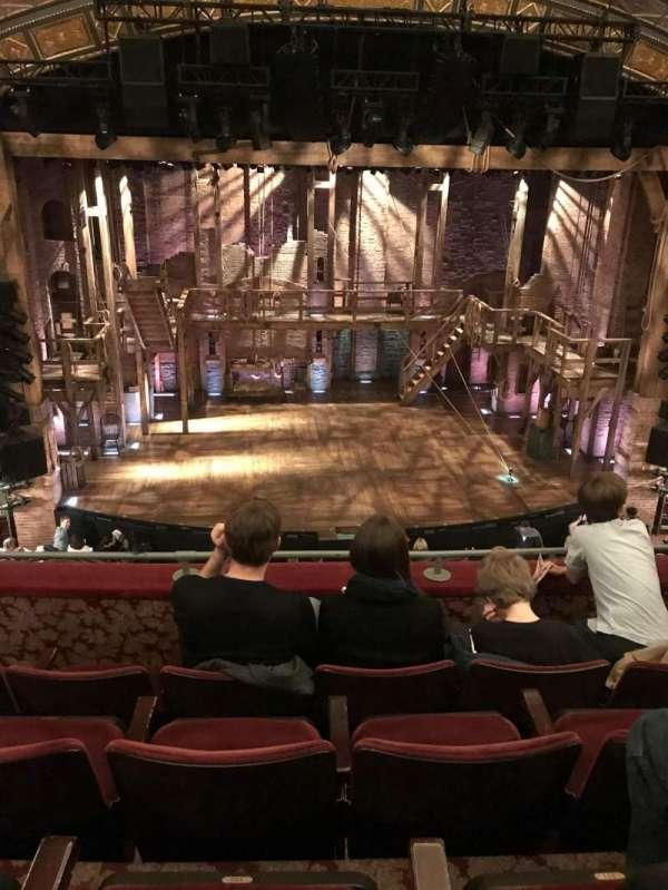 Richard Rodgers Theatre, secção: Front Mezzanine C, fila: D, lugar: 112