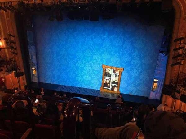 Walter Kerr Theatre, secção: Mezzanine R, fila: F, lugar: 2