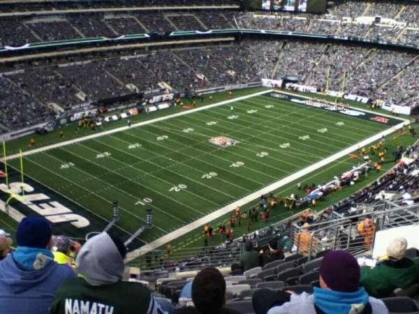 MetLife Stadium, secção: 346, fila: 17, lugar: 8