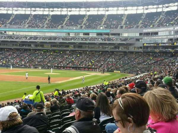 Guaranteed Rate Field, secção: 151, fila: 25, lugar: 5