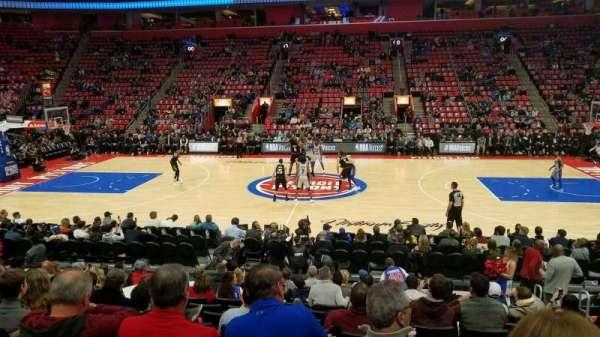 Little Caesars Arena, secção: 109, fila: 12, lugar: 5