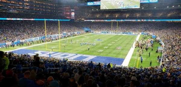 Ford Field, secção: 119, fila: ADA, lugar: 8