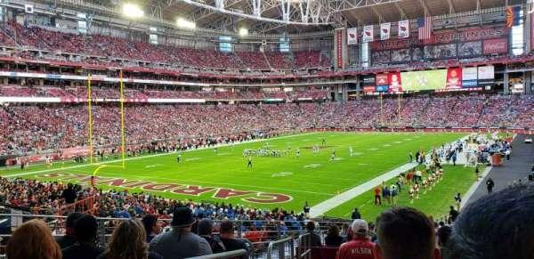 State Farm Stadium, secção: 137, fila: 32, lugar: 12