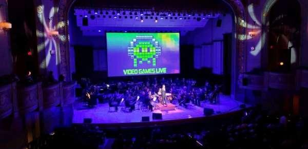 Orchestra Hall, secção: Box, fila: Q, lugar: 7