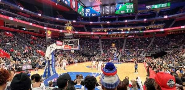 Little Caesars Arena, secção: 115, fila: F, lugar: 1