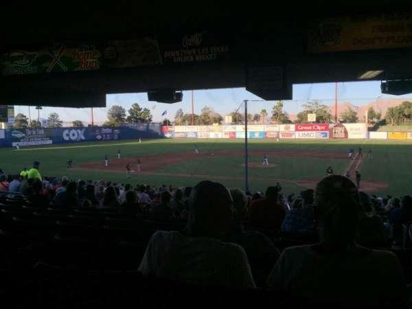Cashman Field, secção: 9, fila: ZZ, lugar: 1-2