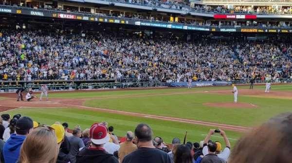 PNC Park, secção: 110, fila: G, lugar: 28