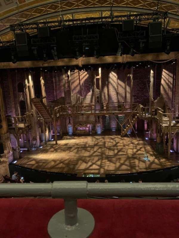 Richard Rodgers Theatre, secção: Front Mezzanine C, fila: A, lugar: 105
