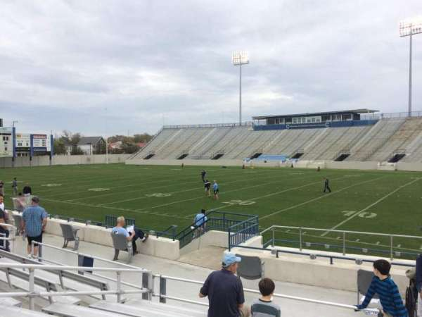 Johnson Hagood Stadium, secção: C, fila: 10, lugar: 1