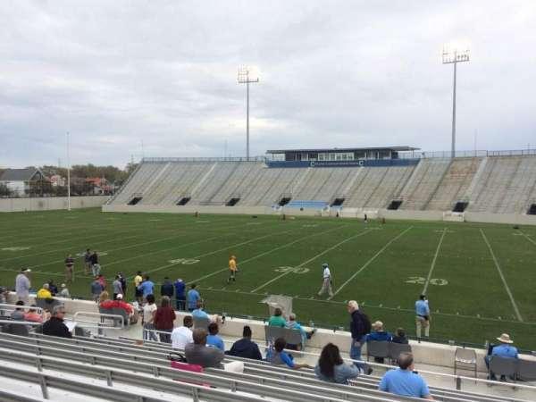 Johnson Hagood Stadium, secção: E, fila: 14, lugar: 11