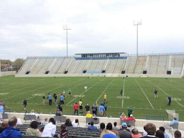 Johnson Hagood Stadium, secção: F, fila: 15, lugar: 3