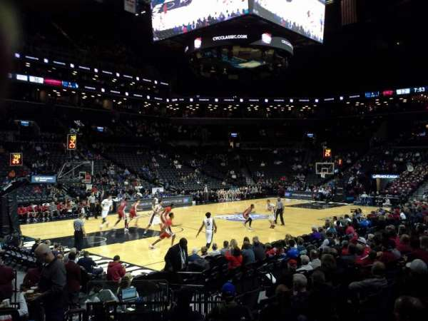 Barclays Center, secção: 28, fila: 10, lugar: 7