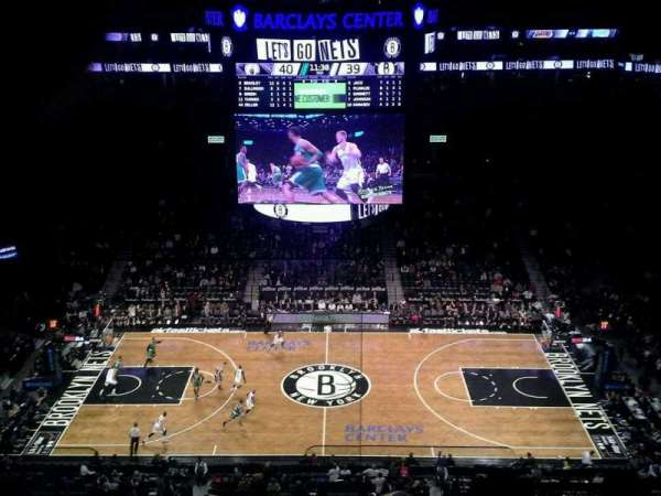 Barclays Center, secção: 223, fila: 8, lugar: 26