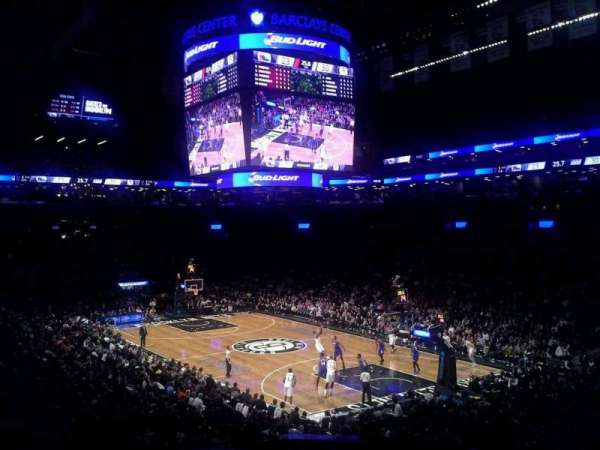 Barclays Center, secção: 104, fila: 4, lugar: 1