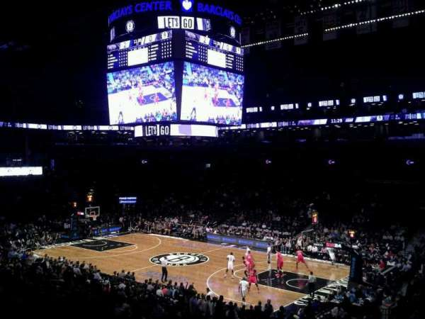 Barclays Center, secção: 121, fila: 5, lugar: 1