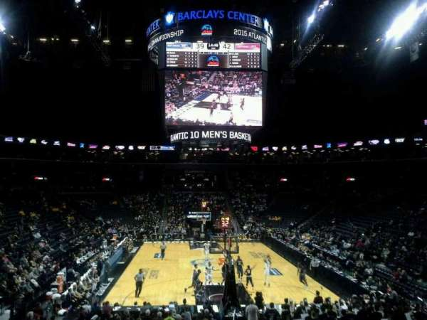 Barclays Center, secção: 1, fila: 20, lugar: 1
