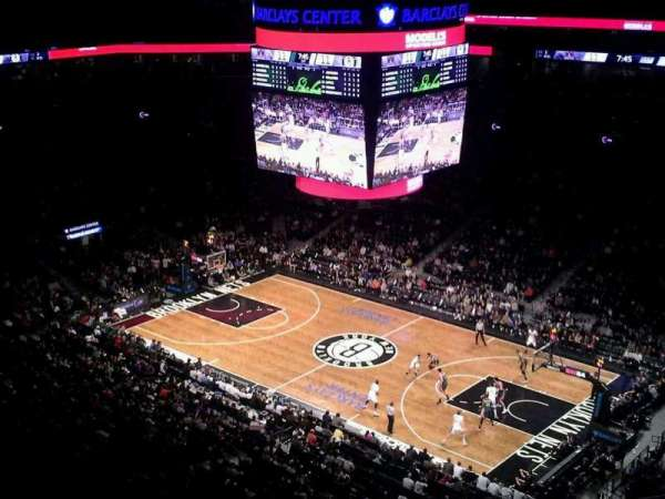 Barclays Center, secção: 205, fila: 10, lugar: 1